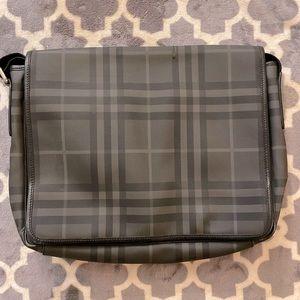 Authentic Burberry dark novacheck bag